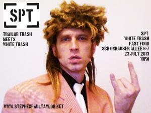 spt white trash poster