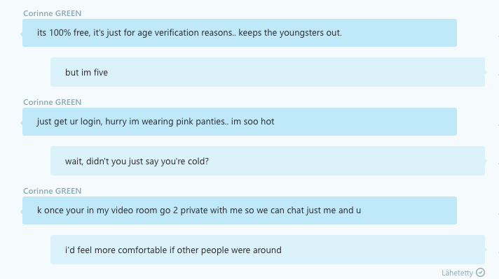 sexy Skype Chat