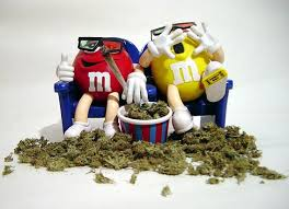 m and m weed